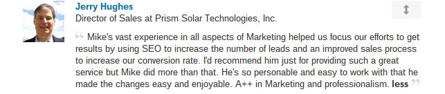 Jerry  TestimonialEdit Profile   LinkedIn