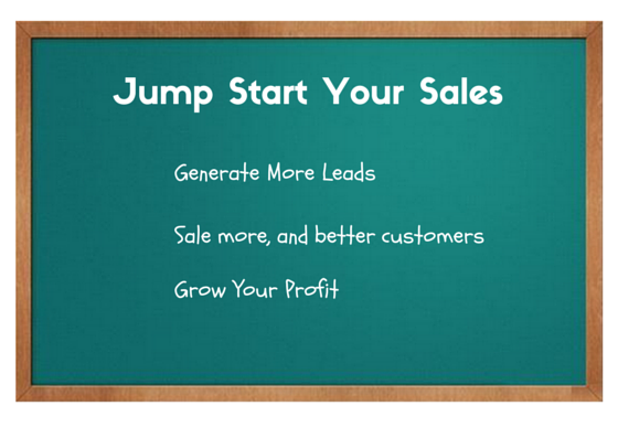 Jump Start Your Sales