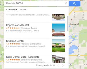 Dentists 80026   Google Maps